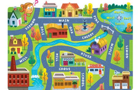 Difference between village and town essay